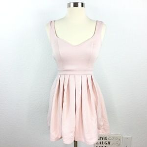 Topshop Dress Pink Women Size 2